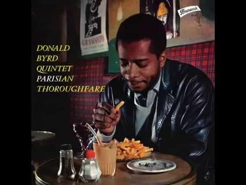 DONALD BYRD PARISIAN THOROUGHFARE BRUNSWICK 87904 ORIG FRANCE LP MINT