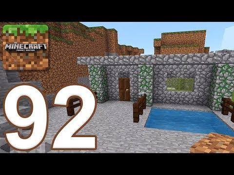 Minecraft: Pocket Edition – Gameplay Walkthrough Part 92 – Survival (iOS, Android)