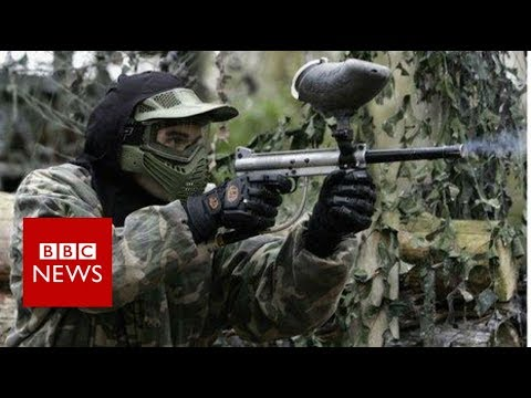 'I invented paintball to settle an argument' - BBC News