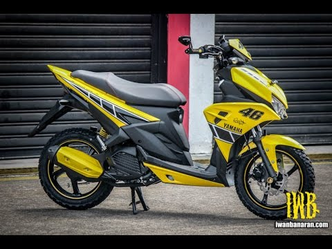 Yamaha Aerox 125 LC Sentul Indonesia 2016