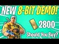 THE 8-BIT DEMO CONSTRUCTOR RETURNS! Should You Buy? | Fortnite Save The World