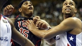 USA vs Puerto Rico 2006 FIBA World Basketball Championship Group Game FULL GAME English