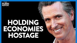 California Crazy: No Reopening Till Equity Metrics Met & VP Debate | DIRECT MESSAGE | RUBIN REPORT