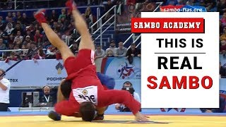 19 combinations to win fast.  Most real moves.  Sambo is very versatile style of wrestling