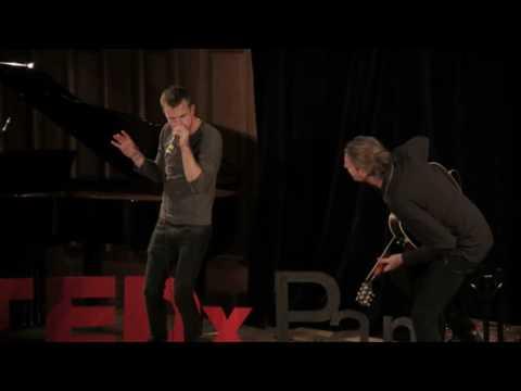 TEDxPanthéonSorbonne Heymoonshaker Andrew Balcon & David Crowe Heymoonshaker