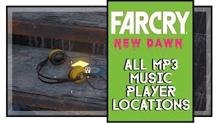 Far Cry New Dawn All MP3 Music Player Locations [Audiophile Trophy]