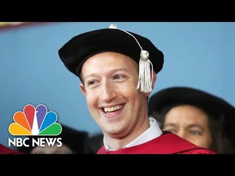 Mark Zuckerberg Speaks At 366th Harvard Commencement (Full) | NBC News