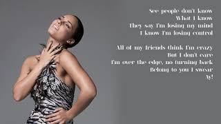 Alicia Keys - 02. Love is Blind (Lyrics)