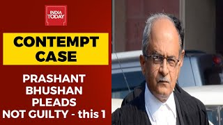 Allegations Of Corruption Not Contempt Of Court, Prashant Bhushan In His Written Submission In SC - Download this Video in MP3, M4A, WEBM, MP4, 3GP