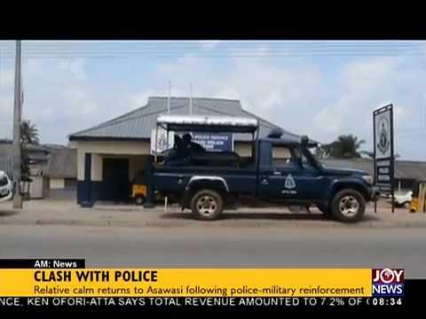 Clash with Police - AM Show on JoyNews (20-7-18)