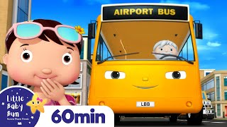 Wheels On The Bus Song! 1 Hour of Nursery Rhymes and Kids Songs | Little Baby Bum
