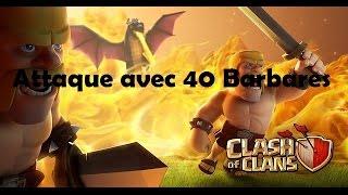 preview picture of video 'Massacrage de village nul sur clash of clans'