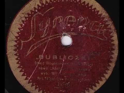 Old Russian song in Polish: Bubliczki - Władysław Ochrymowicz, 1928