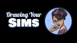 Drawing Your Sims – Battyboots