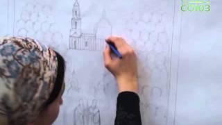 Создание иконы Собора Пермских святых