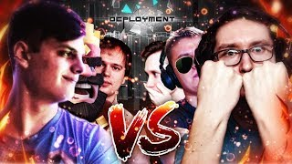 Битва Ютуберов в игре DEPLOYMENT