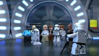 Clip of LEGO Star Wars 3 The Clone Wars