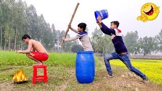 Must Watch New Funny Video😂😂Top New Comedy Video 2019   Try To Not Laugh   #myfamily