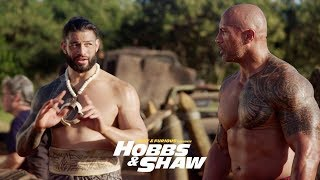 Fast & Furious Presents: Hobbs & Shaw - Dwayne & Roman Reigns as Usos