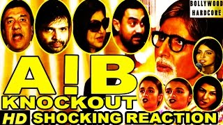 AIB Knockout  Aamir Khan  Alia Bhatt  Anushka  Amitabh Reacts On AIBKnockoutControversy