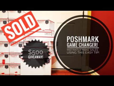 HOW TO USE ADS AND MARKET YOURSELF TO INCREASE SALES ON POSHMARK