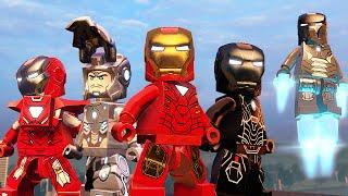 КОСТЮМЫ ЖЕЛЕЗНОГО ЧЕЛОВЕКА - LEGO Marvel's Avengers