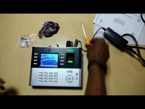 Biometric Attendance Machine eSSL  Model : ICLOCK 990