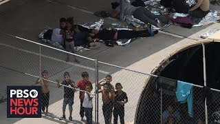 A firsthand report of 'inhumane conditions' at a migrant children's detention facility