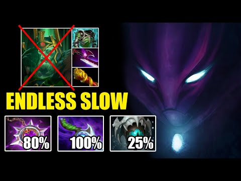 CRAZY 227% ENDLESS SLOW Can't Move Epic Battle Spectre Diffusal + Nullifier Delete Wk Dota 2