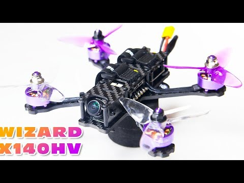 Maiden LOS test flight on 6S with the Eachine Wizard X140hv