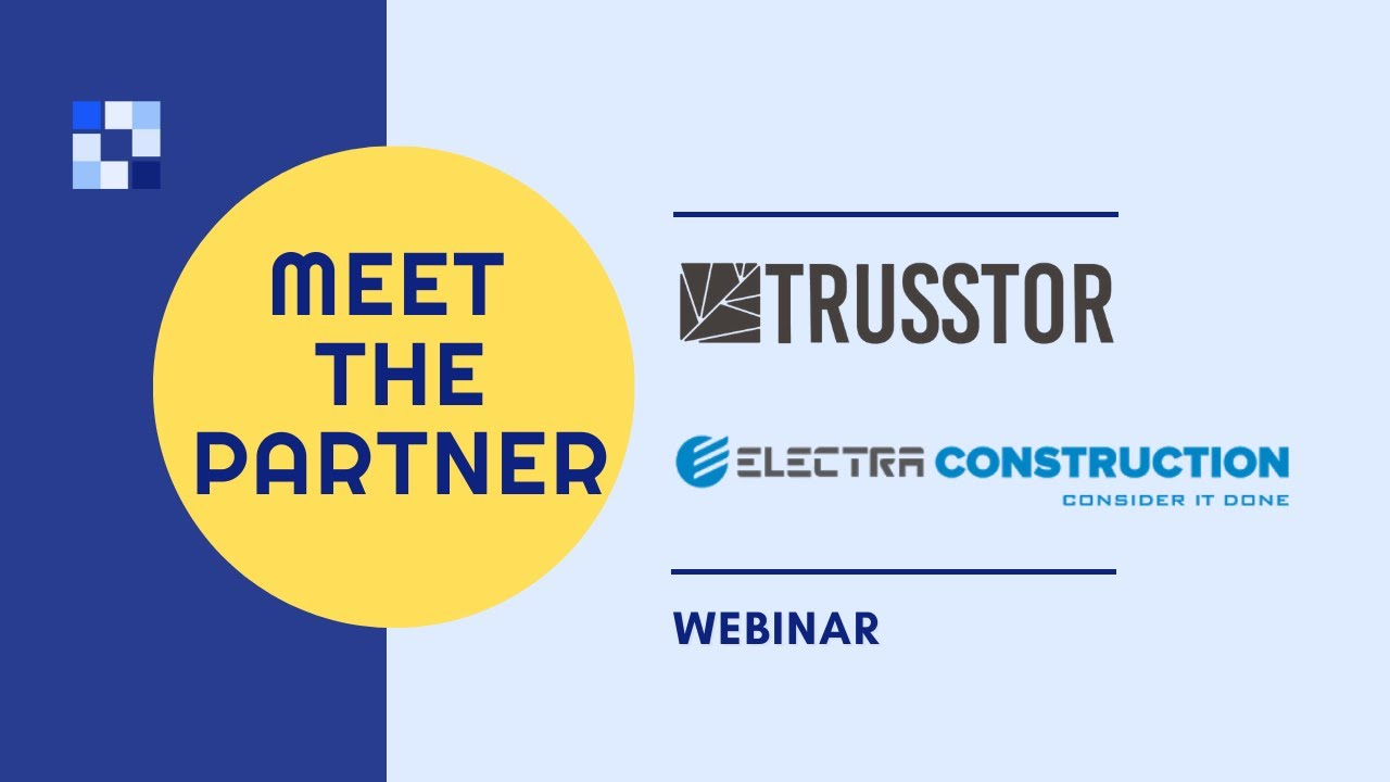 <p>In this webinar, we host Omri Sorek the CEO&amp; co founder at Trusstor and Guy Shem-Tov, Chief Engineer at Electra Construction. Together we talk about their collaboration.</p>