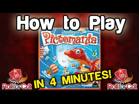 How to Play Pictomania | Roll For Crit