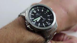 IWC Aquatimer Auto IW3290-02 Luxury Watch Review
