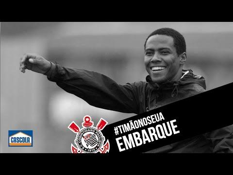 #TimãonosEUA | Embarque