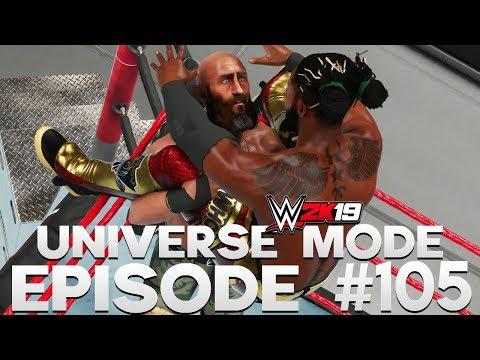 WWE 2K19 | Universe Mode - 'ELIMINATION CHAMBER PPV!' (PART 4/5) | #105