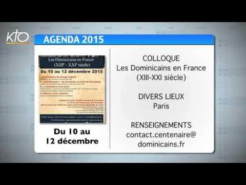 Agenda du 23 novembre 2015