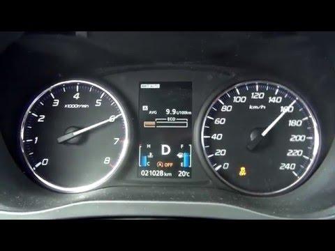 Der Aufwand des Benzins auf 100 km schkoda oktawija 1.8