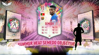*LIVE* NELSON SEMEDO SUMMER HEAT OBJECTIVES GRINDING!!! - FIFA 20 Ultimate Team