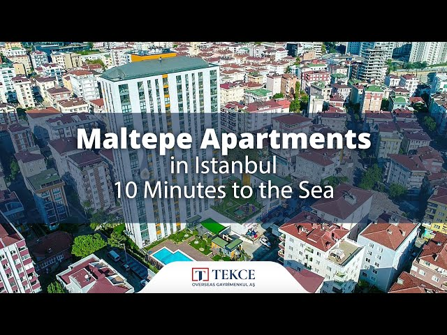 Special Designed Apartments in Istanbul Maltepe with Sea View