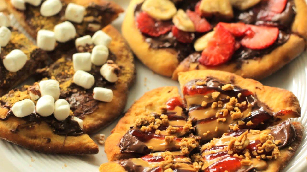 Mini Nutella Pizzas thumbnail