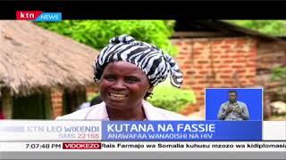 Faustine Mbone wa Mumias anawafaa wanaoishi na HIV, kwa kutumia Maharagwe ya Soya