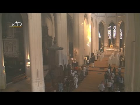 Vêpres et messe du 21 juillet 2018