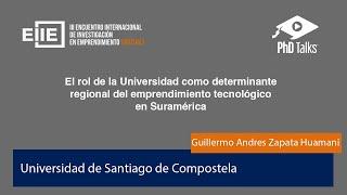 El rol de la universidad como determinante regional del emprendimiento tecnológico en Suramérica