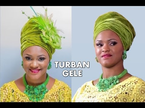 How to tie Turban Gele Headgear - Full Tutorial