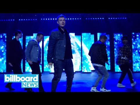 Backstreet Boys Share New Single & Video 'Don't Go Breaking My Heart' | Billboard News