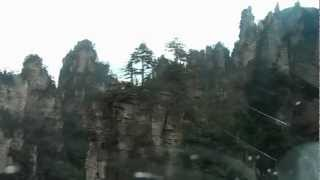 preview picture of video 'Zhangjiajie National Forest Park - Cable car ride'