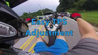 How to: Motorcycle Throttle Position Sensor tester on the