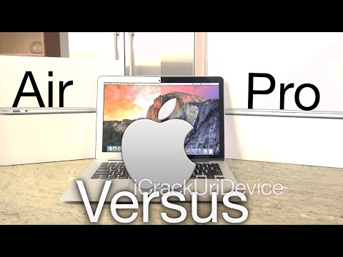 "New MacBook Pro vs. 13"" MacBook Air (2015): Retina Comparison and Review"