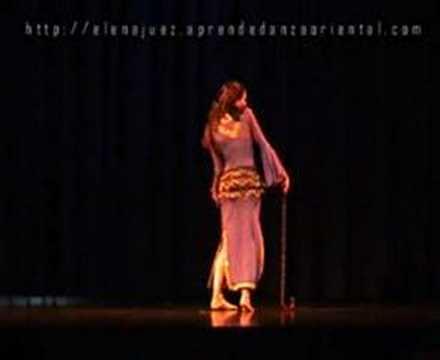 Danza Folclórica de Egipto, danza con Bastón