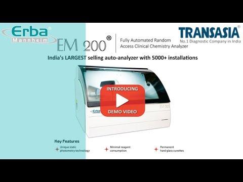 Erba  EM200 Fully Automated Biochemistry Analyzer